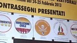 Elezioni 2013, per Grillo, Pirati, Ingroia, Monti è guerra ai fake. E Beppe si fa capo coalizione: è in difficoltà?