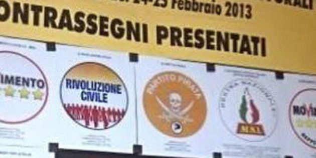 Elezioni 2013. Per Grillo, Pirati, Ingroia, Monti è guerra ai simboli 'fake'. E Beppe si fa capo coalizione:...