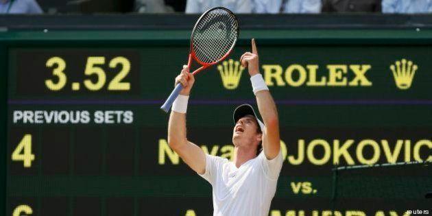 Andy Murray vince Wimbledon, si rompe un tabù: 77 anni dopo un britannico trionfa in patria