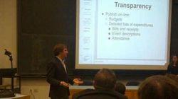 Dai toga party a Princeton, il consigliere De Romanis ora dà lezioni sulla lotta alla corruzione (FOTO,