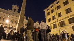 Occupy Montecitorio in diretta streaming, il richiamo di Grasso e