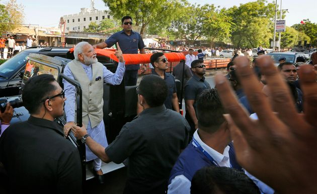 On Modi's 'Roadshow', EC Seeks Report From Gujarat Poll
