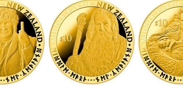 Nuova Zelanda, sulle monete il