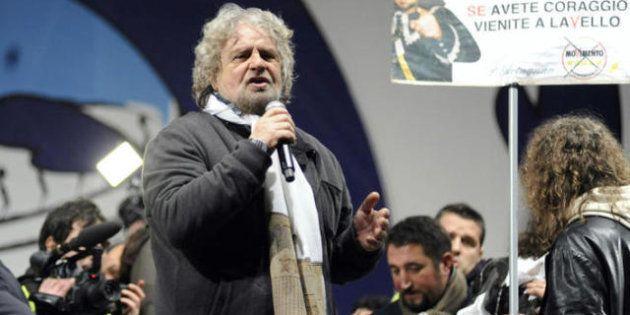 Beppe Grillo risponde a Giorgio Napolitano sul blog: