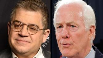 Patton Oswalt, John Cornyn