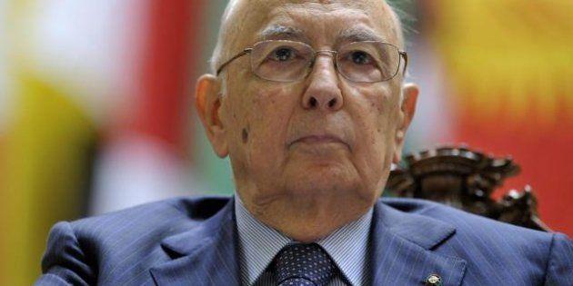 Trattativa Stato Mafia, Giorgio Napolitano