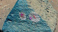 Curiosity: la prima roccia analizzata su Marte spiazza i ricercatori (FOTO,