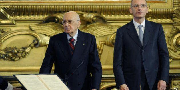 Pd, tra gli ex Ds monta l'insofferenza verso Enrico Letta (e Giorgio Napolitano):