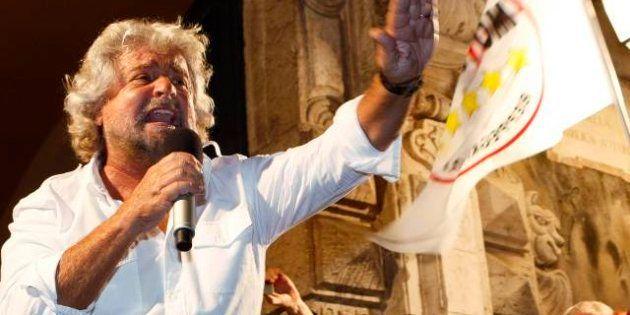 Beppe Grillo a Roma e nel Lazio. Il M5S alle elezioni regionali e comunali. La prima assemblea dei