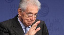 Mario Monti al Quirinale per la road map di fine