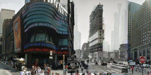 Le città tornano indietro nel tempo. Presente e passato insieme con What Was There