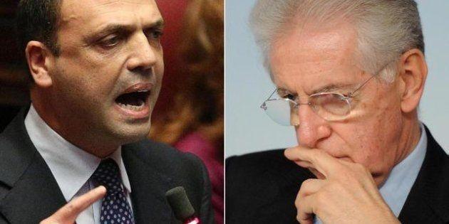 Mario Monti a mani