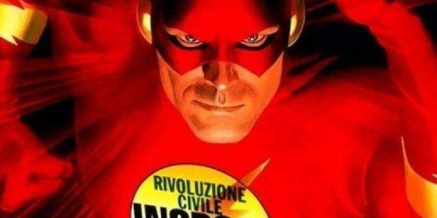 Elezioni 2013, Antonio Ingroia arruola i personaggi dei fumetti e l'editrice Bonelli lo diffida: