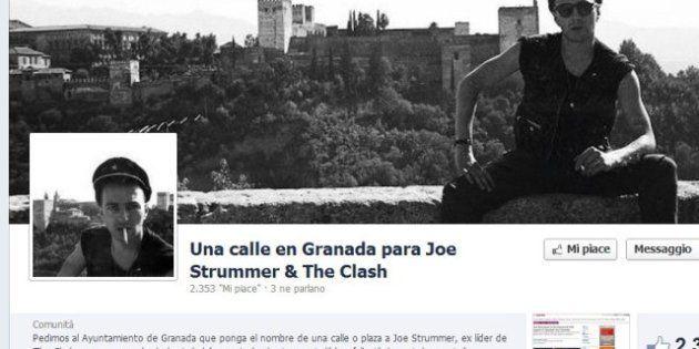Granada, in arrivo una piazza intitolata a Joe Strummer, leader dei Clash