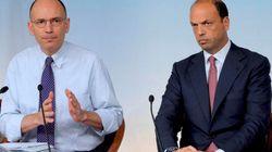 Il Pd salva il governo e boccia Angelino Alfano. Ma si apre il caso dissidenti, scontro