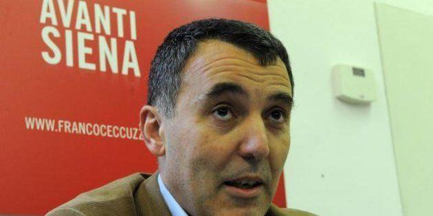 Pd: Franco Ceccuzzi ritira la sua candidatura a sindaco di Siena. E' indagato in un'inchiesta collegata...