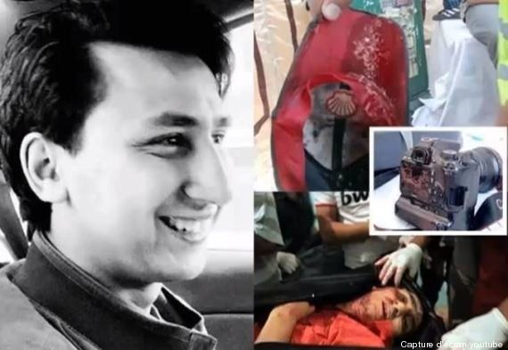 Egitto, il reporter filma la sua morte. Le immagini choc