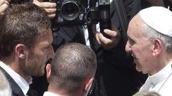 Francesco e Francesco: Totti dal Papa