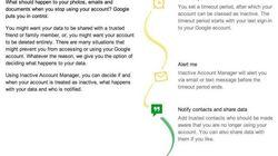Google, come gestire i propri dati dopo la