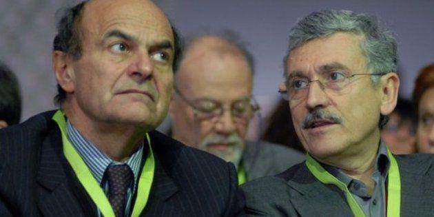 Massimo D'Alema incontra Pier Luigi Bersani: