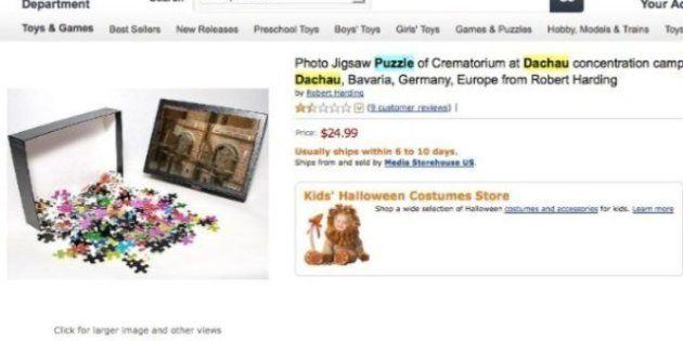 Puzzle-choc sul campo di concentramento in vendita su Amazon, Gasbarra chiede al governo di