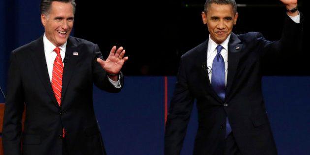 Elezioni americane: stasera il secondo dibattito, Obama e Romney incontrano gli elettori (FOTO,