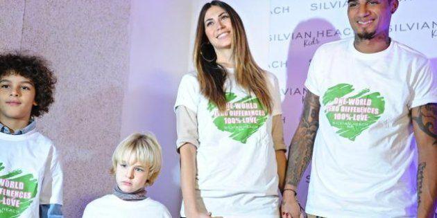 Pitti Bimbo ad alta dose di celebrità : Boateng, Claudia Gerini, Belen,