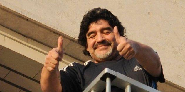 Il ritorno di Maradona a Napoli: