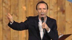 Benigni recita Dante a Firenze e scherza su Berlusconi e Renzi