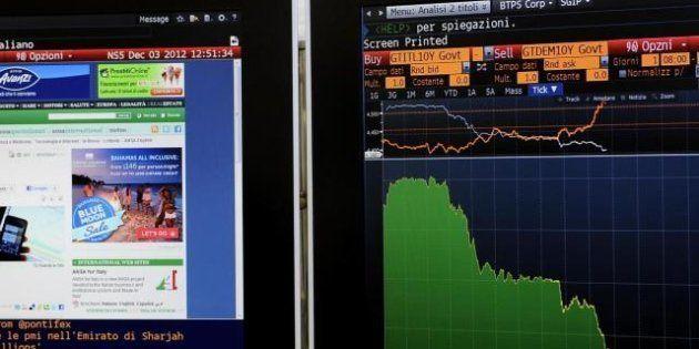 Crisi di governo, cala lo spread. Jp Morgan rassicura: funziona lo scudo di Mario Draghi. Maria Cannata...