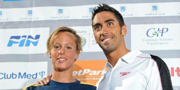 Federica Pellegrini e Filippo Magnini: