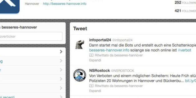 Twitter blocca un account neo nazista in Germania: è la prima volta