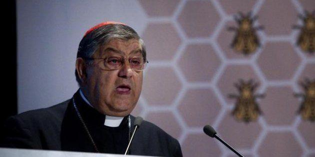 L'arcivescovo di Napoli Crescenzio Sepe: