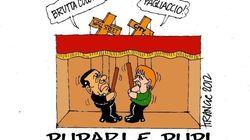 Il vignettista del Giornale Krancic candidato con