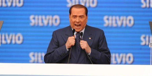 Silvio Berlusconi a Bari: