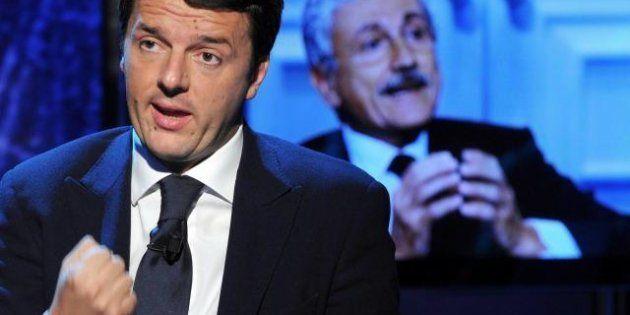 Matteo Renzi su passo indietro di D'Alema: