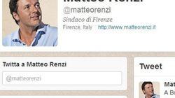 @Renzi - @Bersani. Su Twitter 1 a