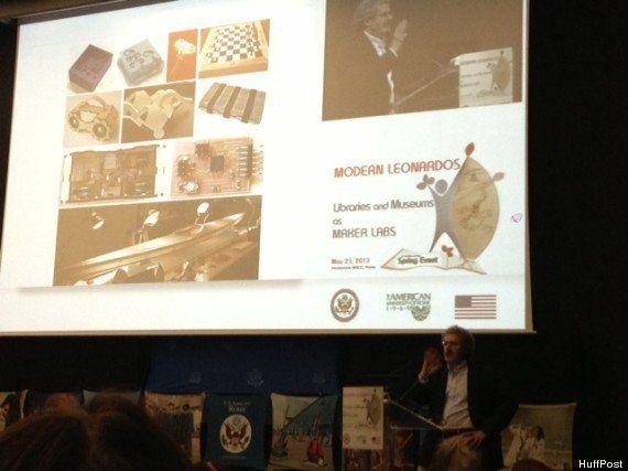 FabLab: musei e biblioteche cambiano pelle, al Maxxi di Roma Neil Gershenfeld del MIT (FOTO,
