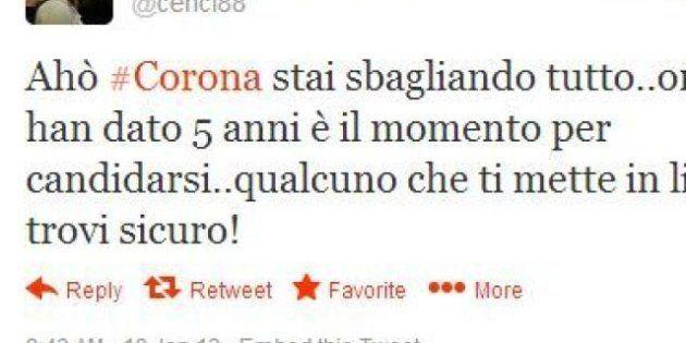 Fabrizio Corona latitante: tutti lo cercano nessuno lo trova. E su Twitter è boom dell''hashtag #coronanonsitrova