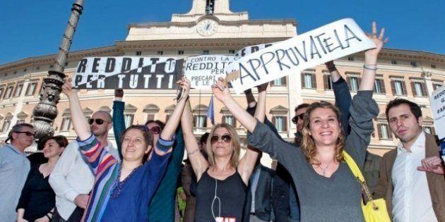 Reddito minimo garantito, i promotori della legge incontrano Laura Boldrini. Insieme Cgil, Sel e il Movimento...