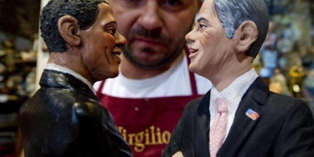 Obama e Romney statuine del presepe napoletano: ecco le opere di Di Virgilio da San Gregorio Armeno