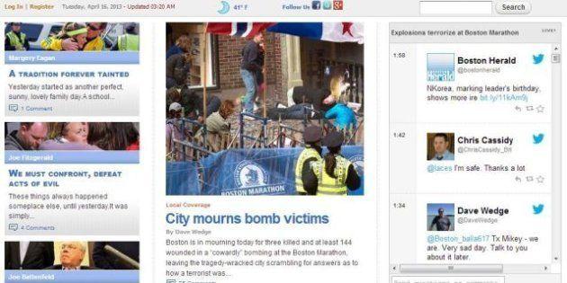 Esplose due bombe alla maratona di Boston. La notizia sui siti di tutto il mondo