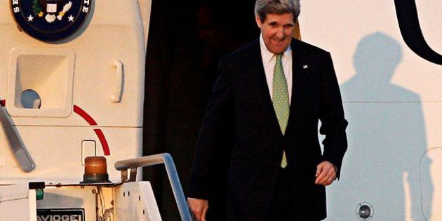 John Kerry a Roma per un vertice sulla Siria: incontrerà Mario Monti e darà un primo commento sul caos...