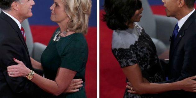 Michelle Obama e Ann Romney, sfida di stile fra la first lady e la contendente. Ann sfoggia un super...