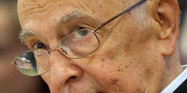 Napolitano difende l'operato del governo Monti:
