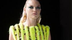 Moda Parigi, Versace tecno-romantica