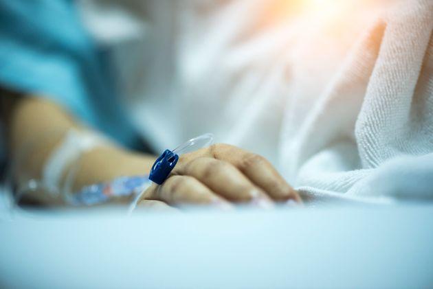 病院での患者の様子 イメージ写真