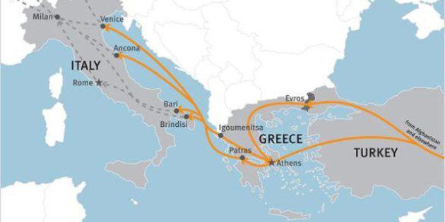 Human Rights Watch: dalla Grecia all'Italia, in cerca di speranza. I nuovi migranti respinti nei porti...