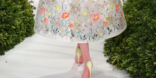 Parigi haute couture, le fanciulle in fiore di Dior