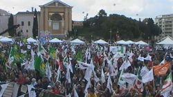 Marino chiude in piazza San Giovanni (DIRETTA